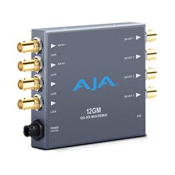 AJA 12G/3G-SDI対応マルチプレクサー/デマルチプレクサー 12GM
